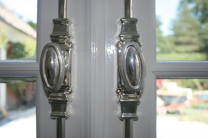 Silver Cremone Bolts French Doors Kenilworth The Fine