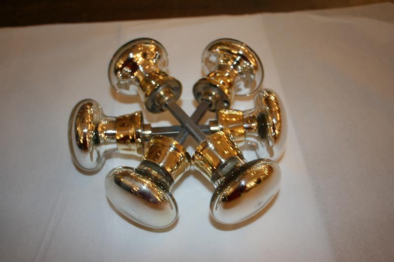 mercury glass door knobs | restoration & plating | the Fine ...