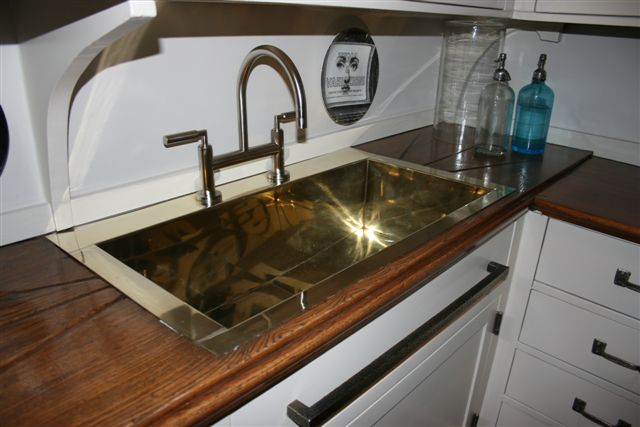 Custom german silver sink the fine architectural for German made kitchen sinks