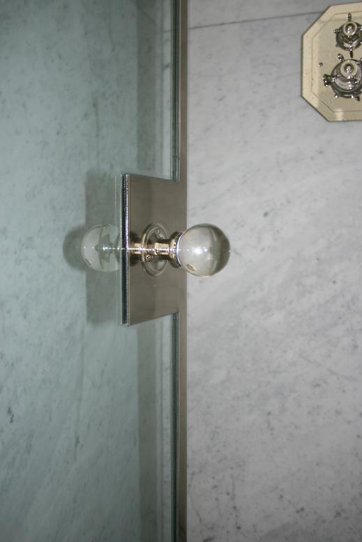 custom shower door handle polished nickel the fine architectural
