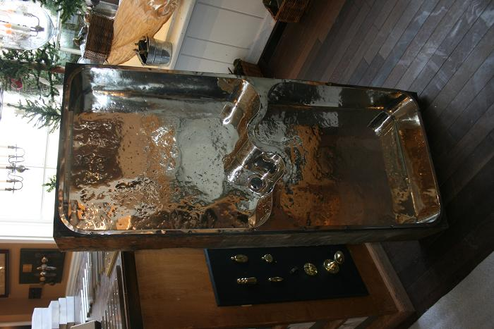 German Silver Sink