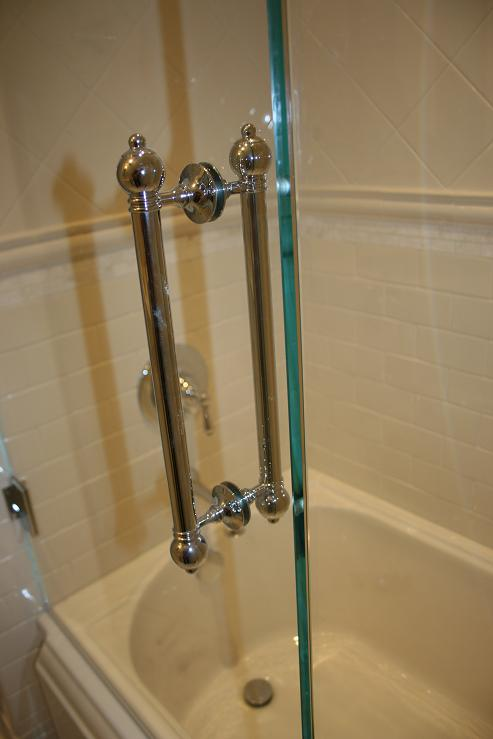 Custom Shower Pulls Polished Nickel The Fine