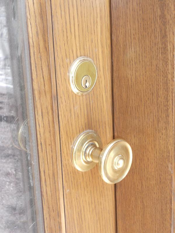 Custom Exterior Door Hardware Unlacquered Brass The