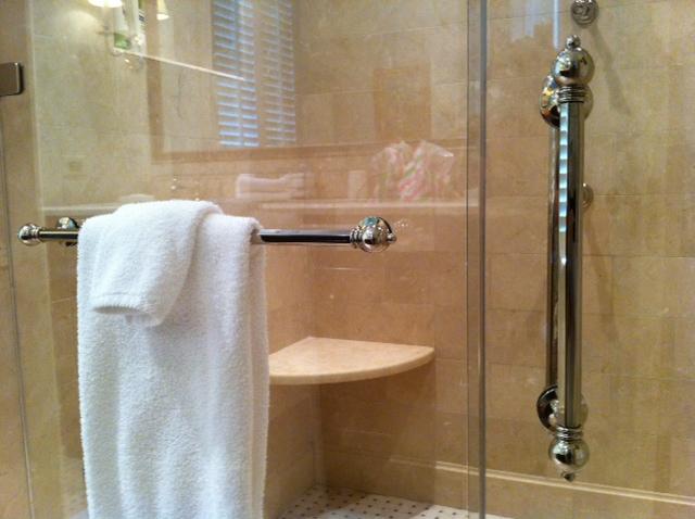 traditional shower door hardware