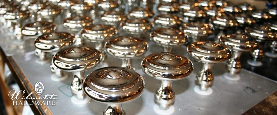 beautiful nickel knobs