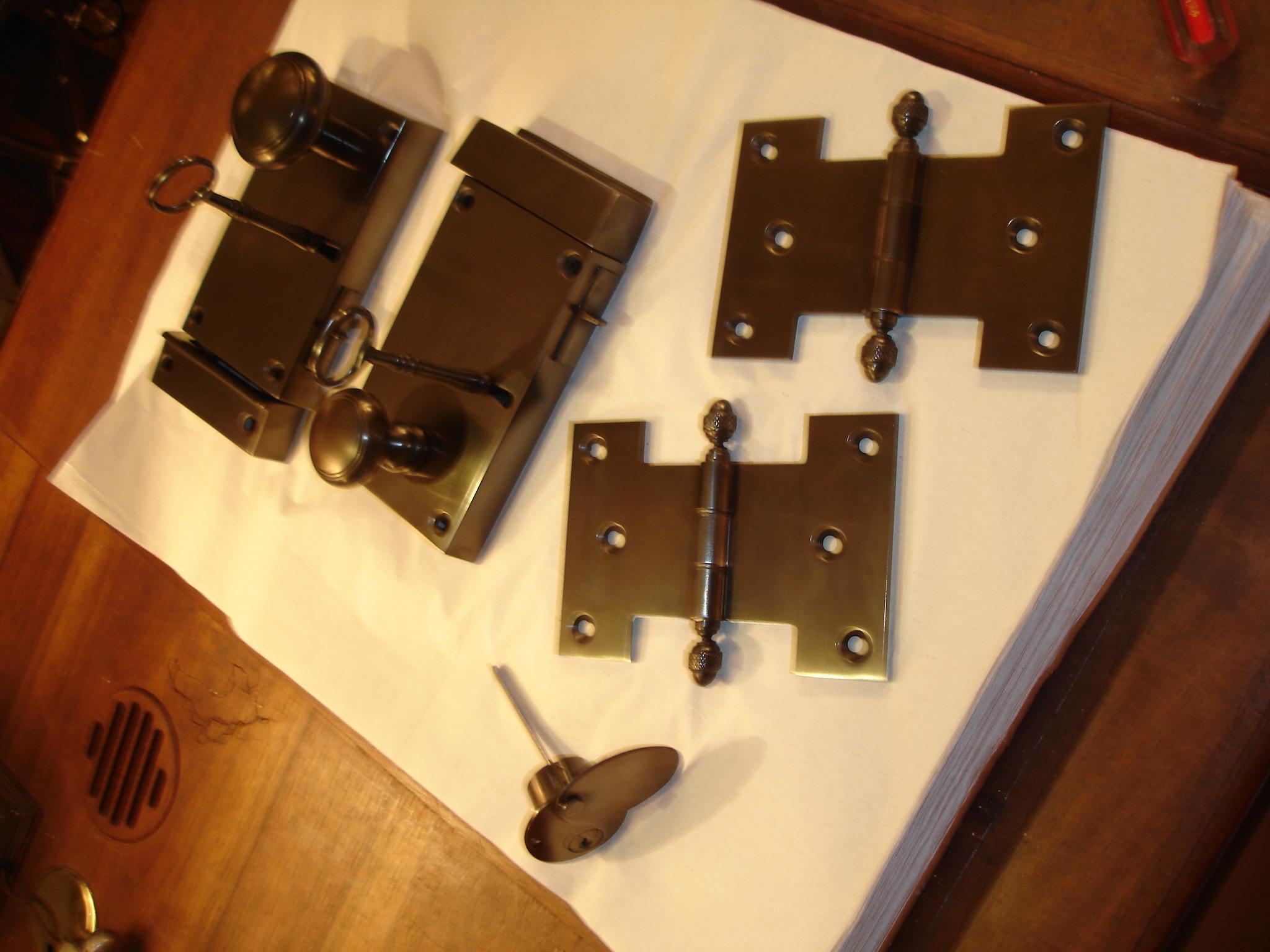 rim locks and hinges