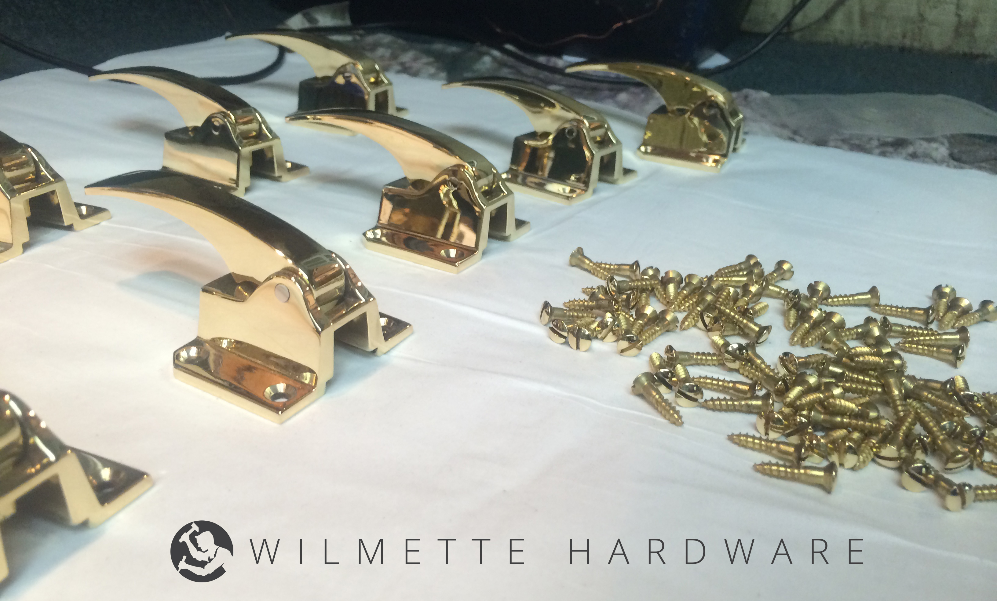 ice box hardware | bright brass